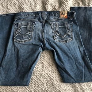 Lucky brand flare jean size 10